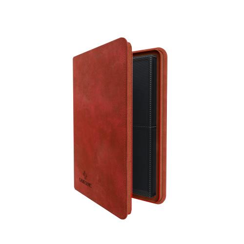 Gamegenic: Zip-Up Album 8-Pocket - Red