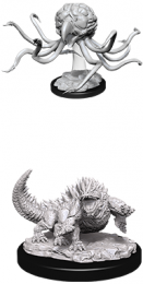 Dungeons & Dragons: Nolzur's Marvelous Miniatures - Grell & Basilisk