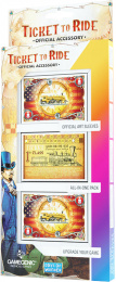 Gamegenic: Ticket to Ride - USA Art Sleeves (46 x 70 mm)