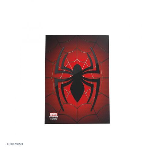Gamegenic: Marvel Champions Art Sleeves (66 mm x 91 mm) Spider-man 50+1 szt.