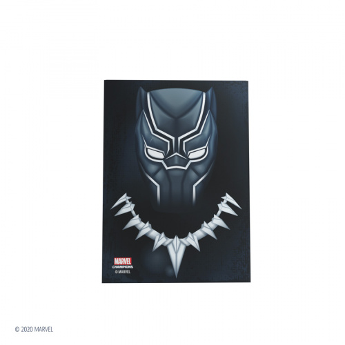Gamegenic: Marvel Champions Art Sleeves (66 mm x 91 mm) Black Panther 50+1 szt.