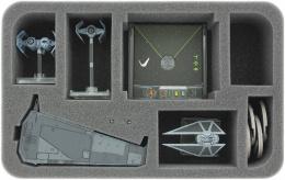 Feldherr Gąbka na X-Wing: Upsilon z akcesoriami