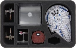 Feldherr Gąbka na figurki X-Wing: Lando's Millennium Falcon (7 otworów)