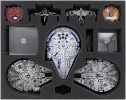 Feldherr Gąbka na X-Wing: 3x Millennium Falcon