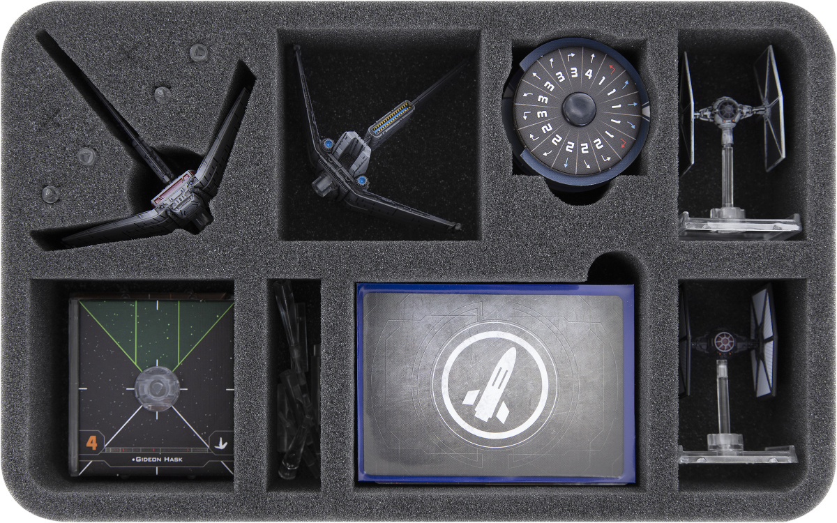 Feldherr Gąbka na figurki X-Wing: Xi-Class Light Shuttle