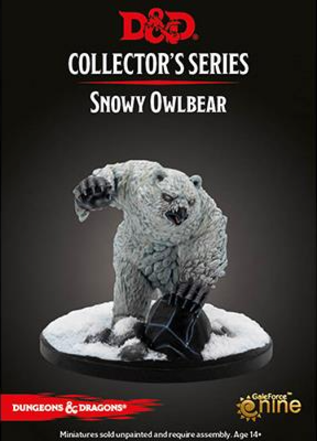 Dungeons & Dragons Icewind Dale: Rime of the Frostmaiden - Snowy Owlbear