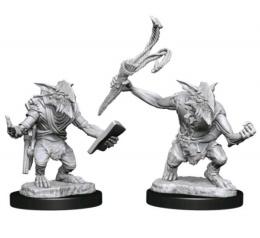 Magic the Gathering Miniatures: Goblin Guide & Goblin Bushwhacker