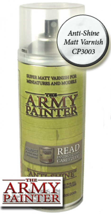 Army Painter Colour Primer - Anti-Shine Matt Varnish