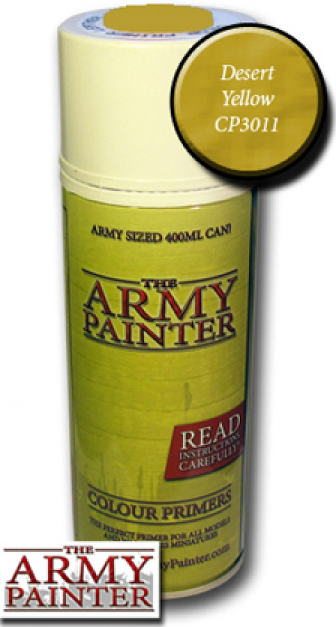 Army Painter Colour Primer - Desert Yellow