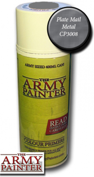 Army Painter Colour Primer - Plate Mail Metal