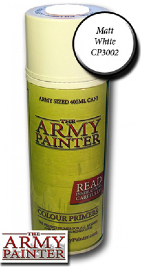 Army Painter Colour Primer - Matt White
