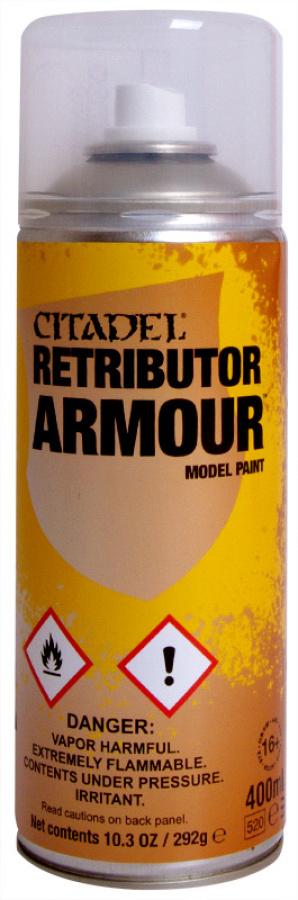 Citadel - Retributor Armour spray (2016)