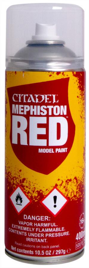 Citadel - Mephiston Red spray (2016)