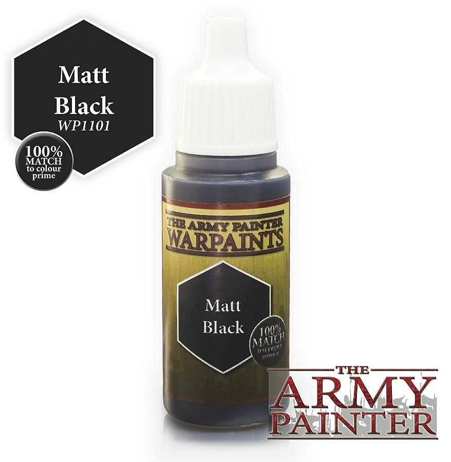Army Painter - Matt Black