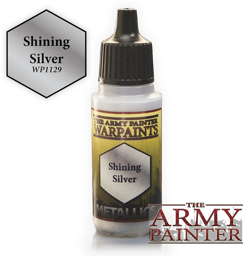 Army Painter Metallics - Shining Silver