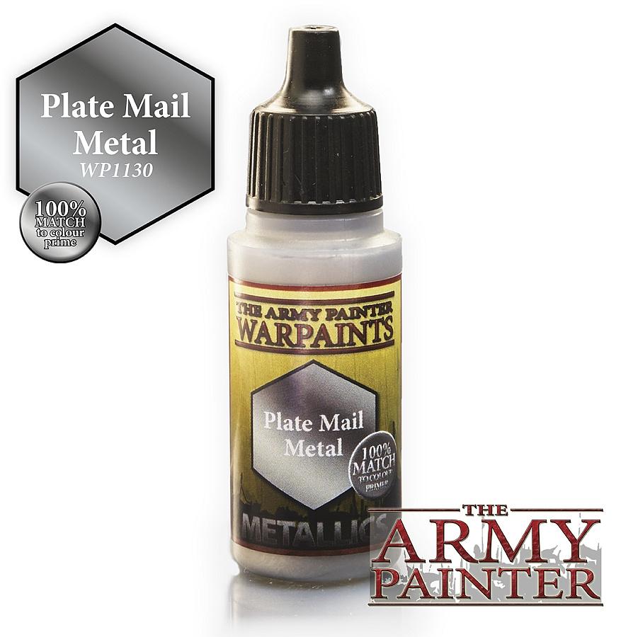Army Painter Metallics - Plate Mail Metal