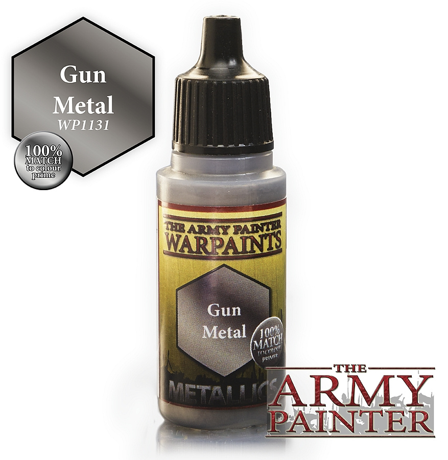 Army Painter - Metallics - Gun Metal