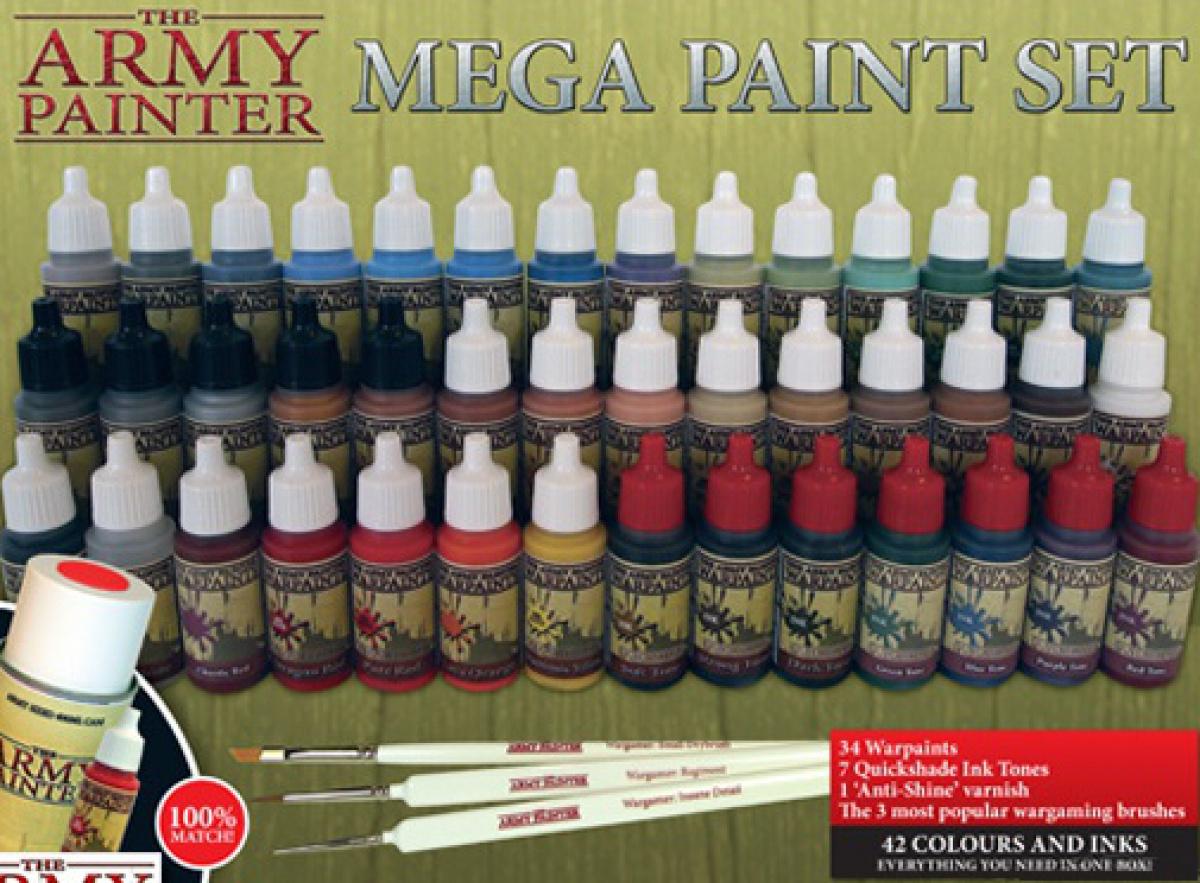 Army Painter - Warpaints Mega Paint Set 2013