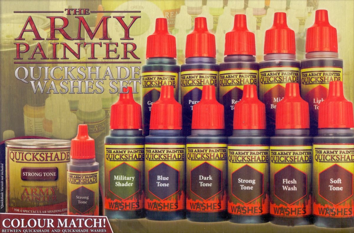 Army Painter - Quickshade Washes Set