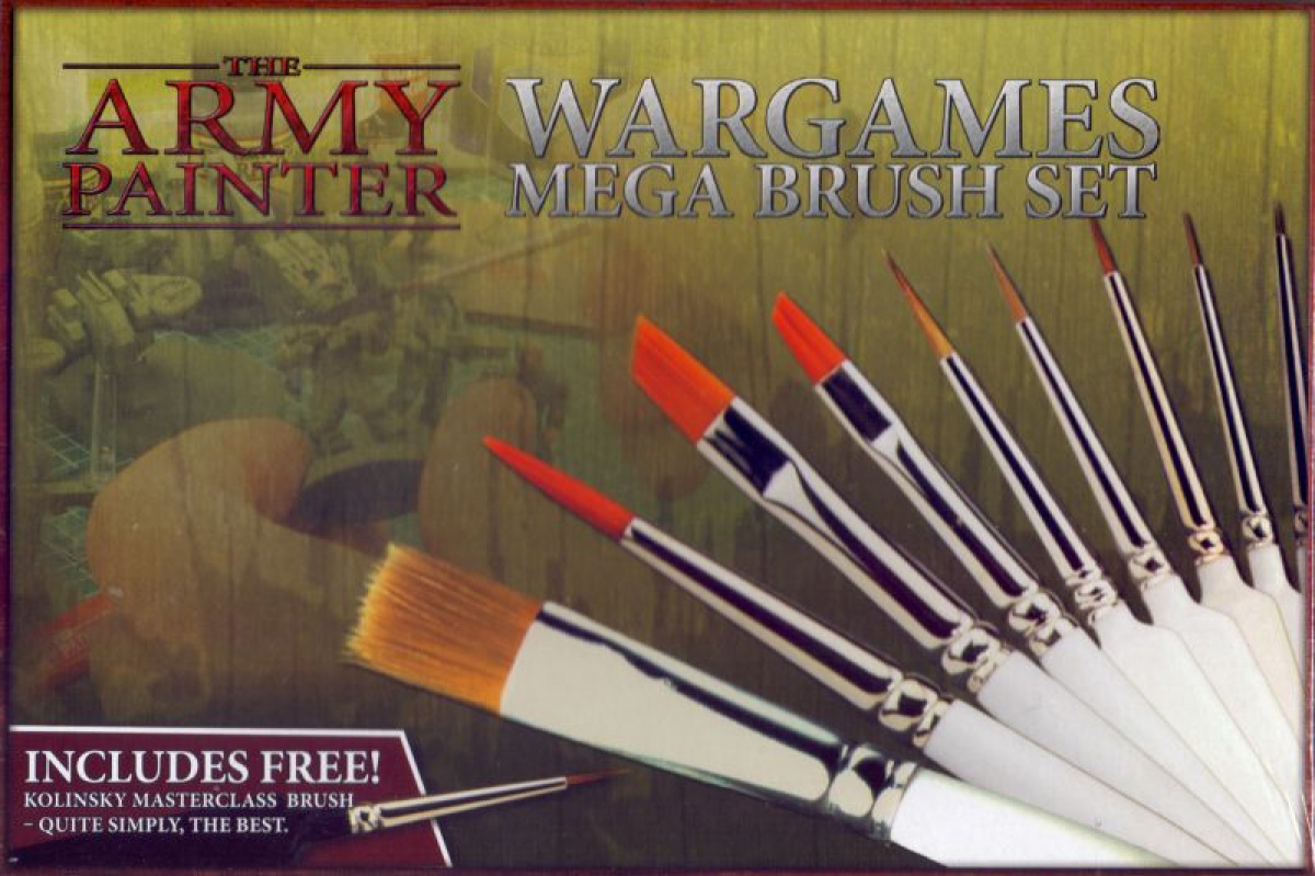 Army Painter - Wargames Mega Brush Set