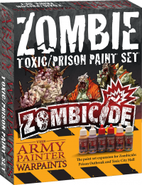 Army Painter Zombicide: Zombie Toxic/Prison Paint Set