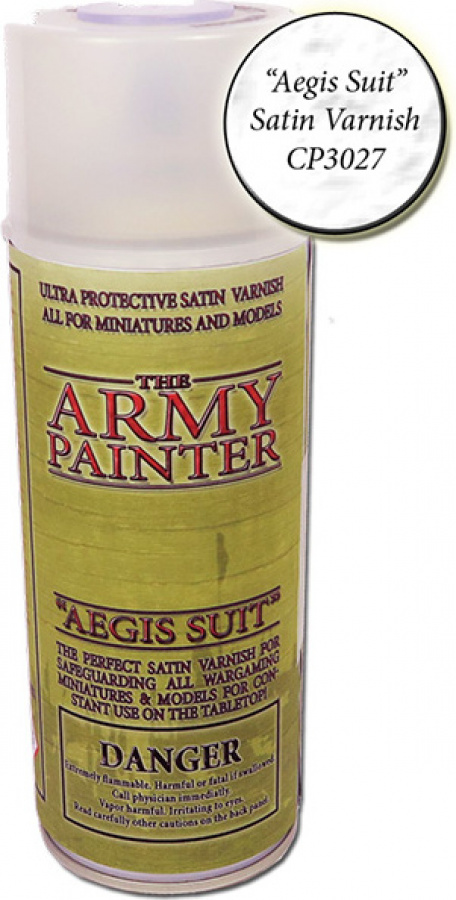 Army Painter Satin Varnish Aegis Suit