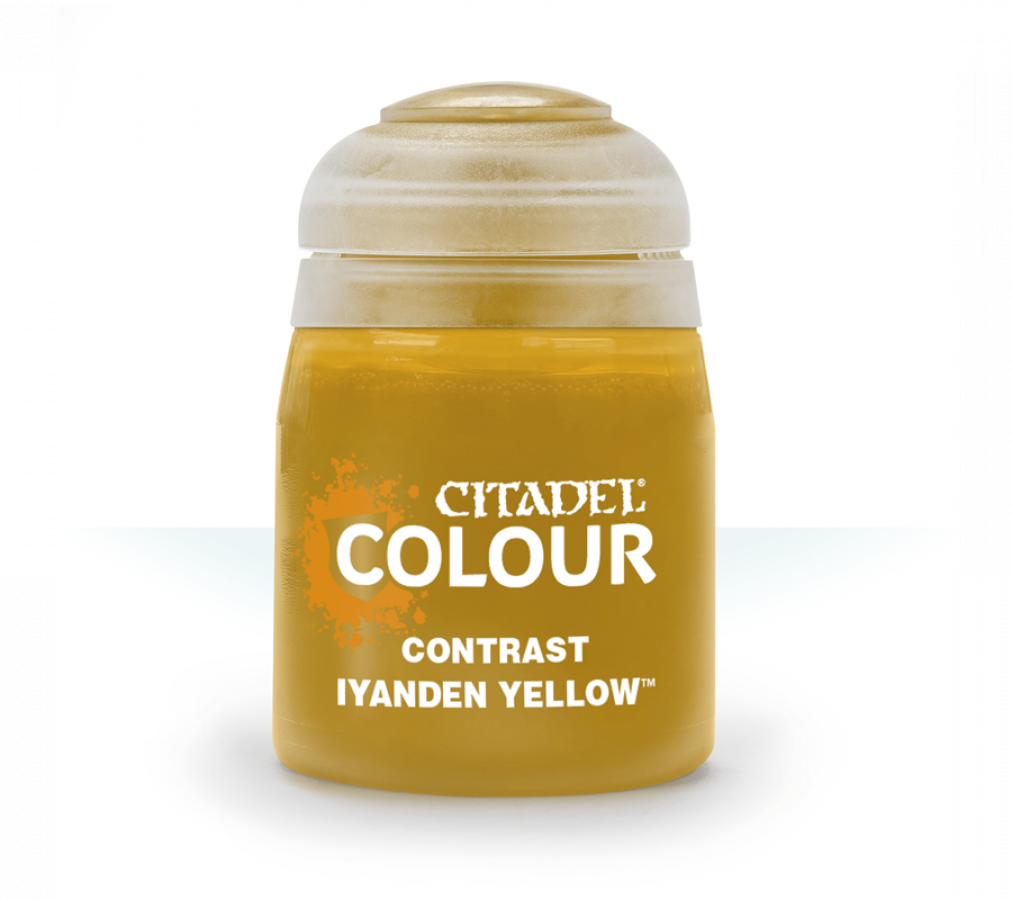 Citadel Colour: Contrast - Iyanden Yellow