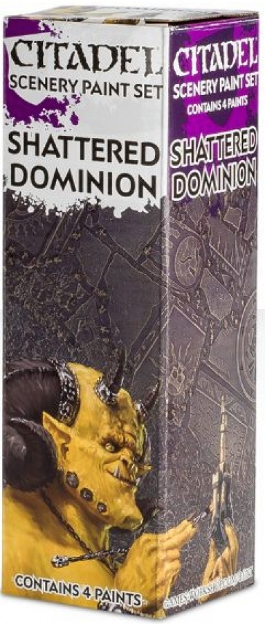 Citadel Scenery Paint Set: Shattered Dominion
