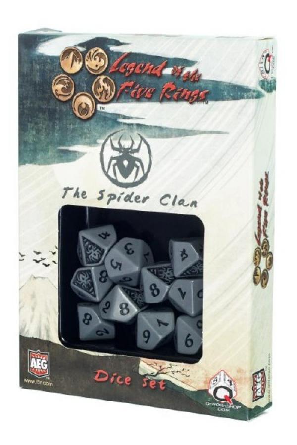 Komplet kości Legenda 5 Kręgów: The Spider Clan (Klan Pająka)