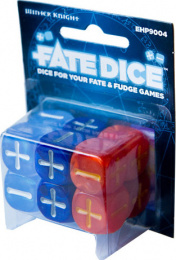 FATE Dice - Dresden Files: Winter Knight