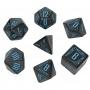 Komplet Kości - RPG Galaktyczne - Czarno-niebieski