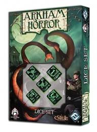 """Komplet Kości """"Arkham Horror"""" - Czarno-zielony"""