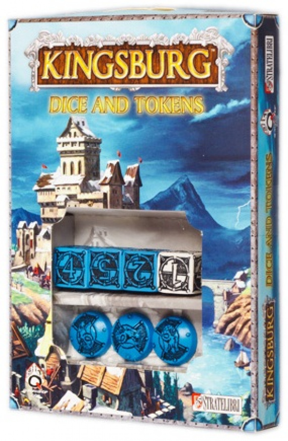 Kingsburg: Dice and Tokens - niebieski