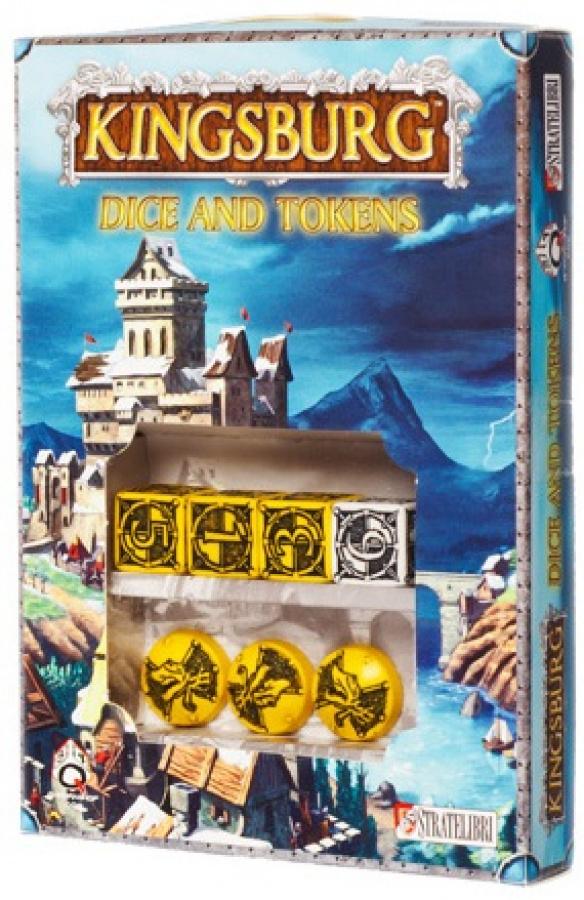 Kingsburg: Dice and Tokens - żółty