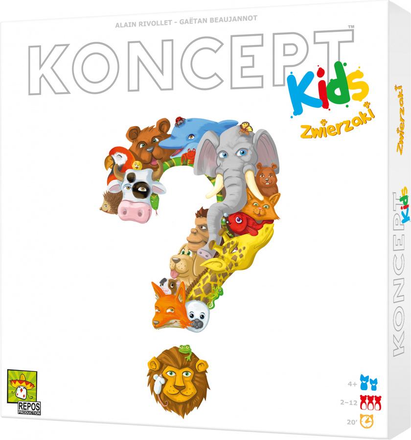 Koncept Kids: Zwierzaki (uszkodzony)