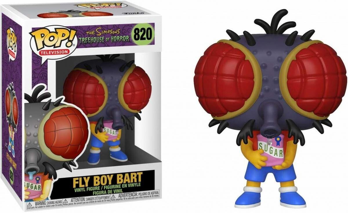 Funko POP Animation: Simpsons S3 - Bart Fly (uszkodzony)