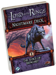 Lord of the Rings LCG: The Voice of Isengard Nightmare Deck