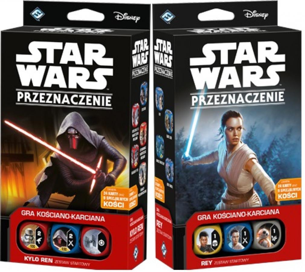 Zestaw Star Wars: Przeznaczenie - Kylo Ren i Rey