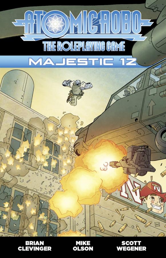 FATE Atomic Robo RPG: Majestic 12