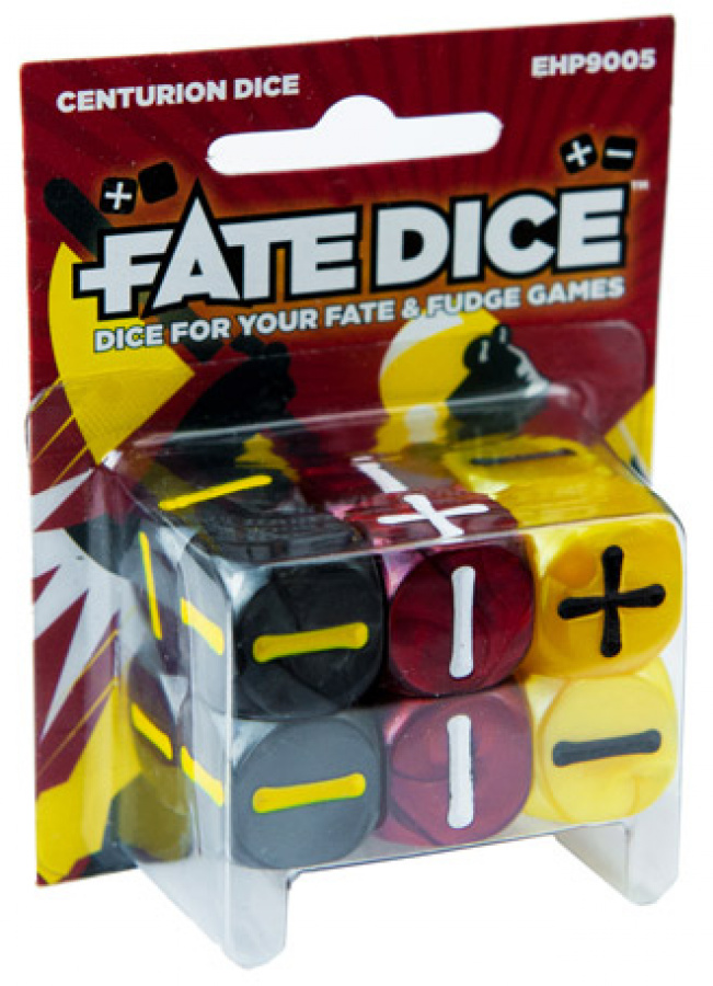 FATE Dice - Centurion Dice