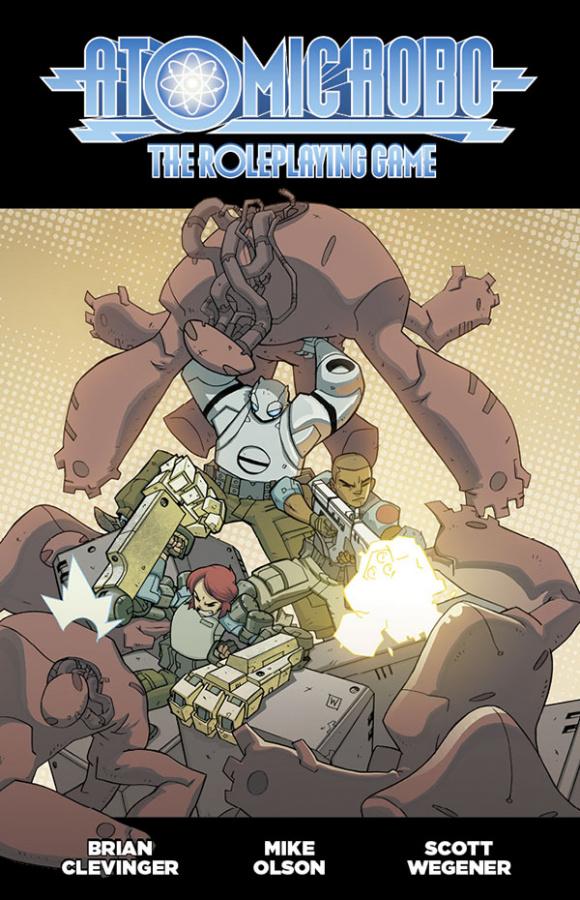 FATE Atomic Robo RPG