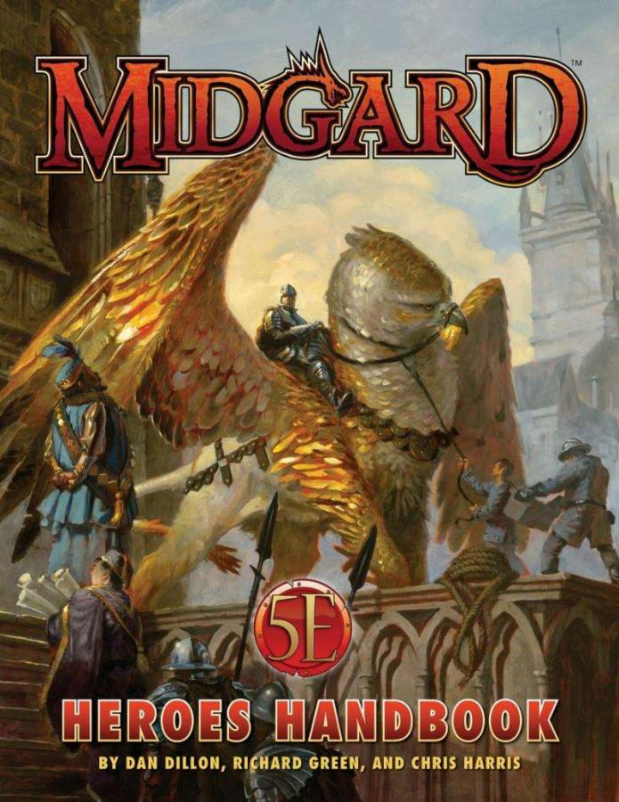 Midgard: Heroes Handbook (5th Edition)