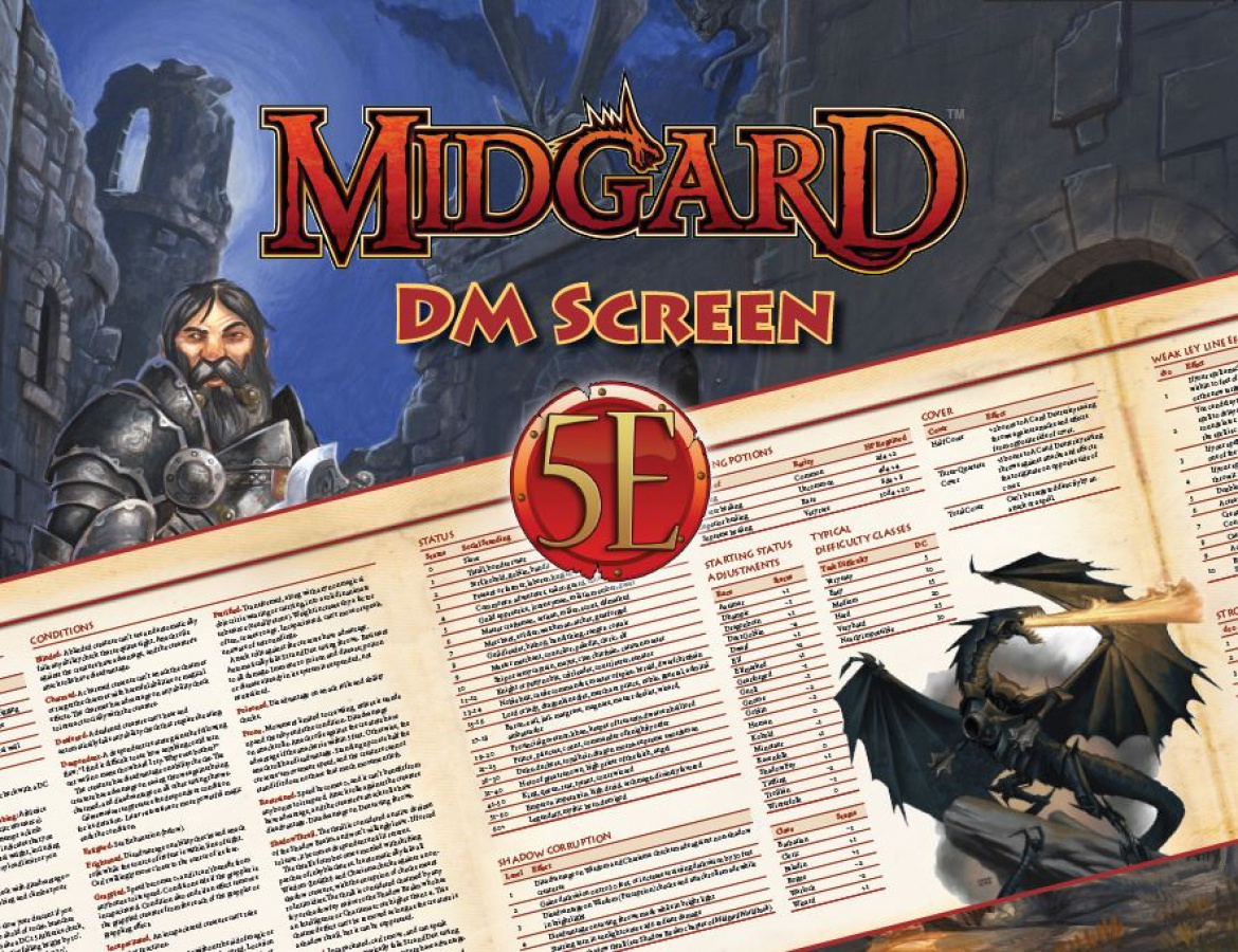 Midgard: DM Screen for 5th Edition
