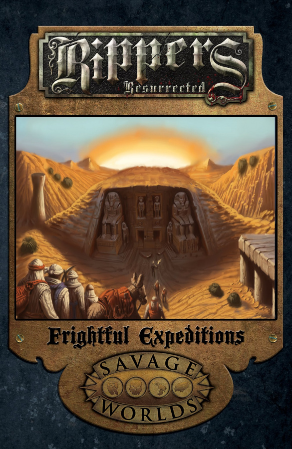 Savage Worlds: Rippers Resurrected - Frightful Expeditions