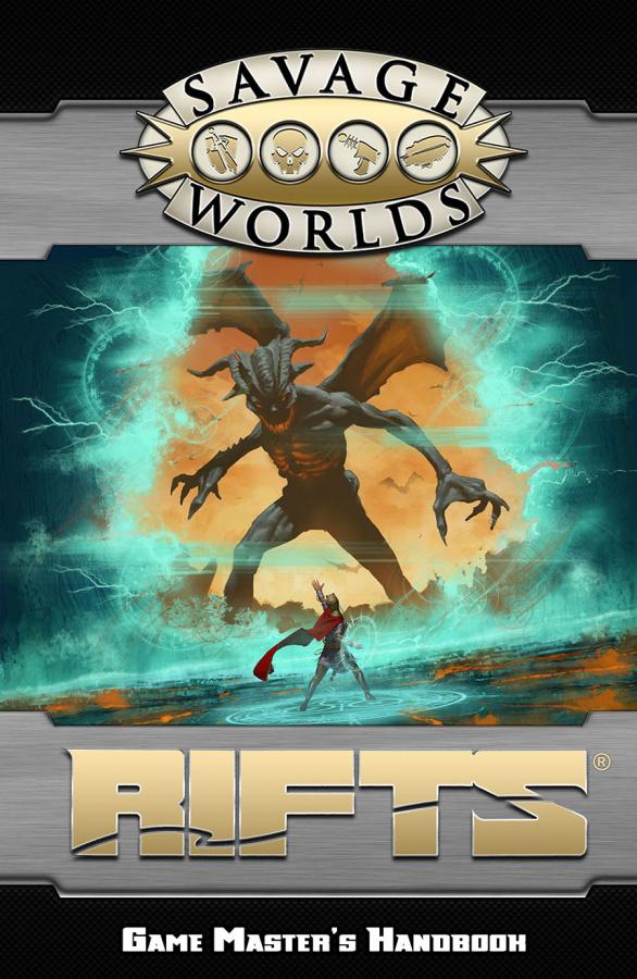 Savage Worlds: Rifts - Game Master's Handbook (twarda oprawa)