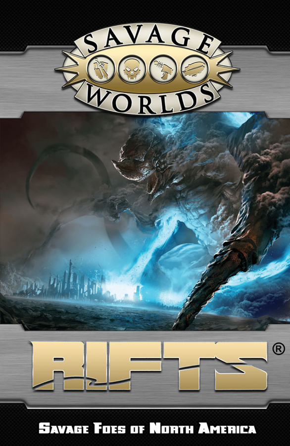 Savage Worlds: Rifts - Savage Foes of North America (twarda oprawa)