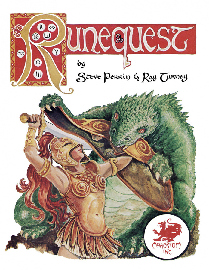 RuneQuest Classic 2nd Edition (skórzana oprawa)