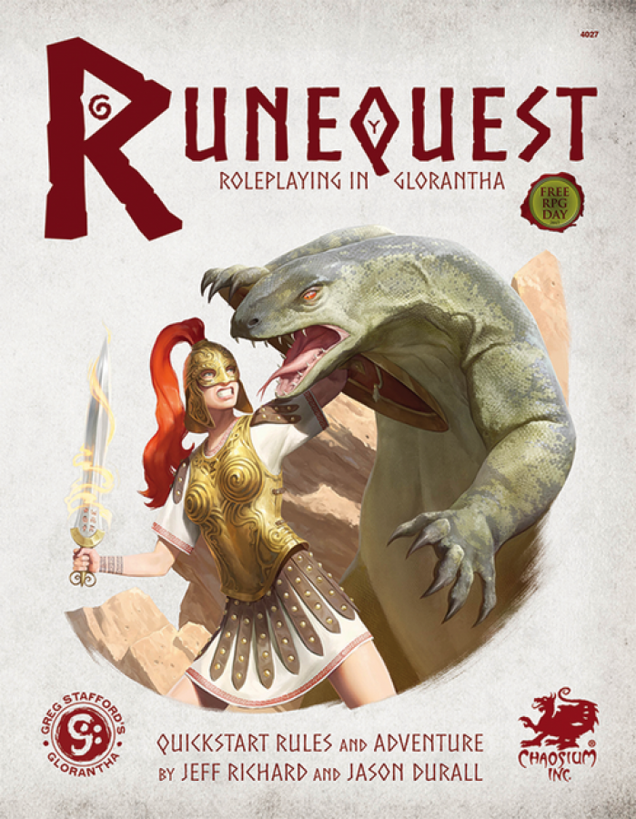 RuneQuest: Roleplaying in Glorantha - Quickstart Rules and Adventure