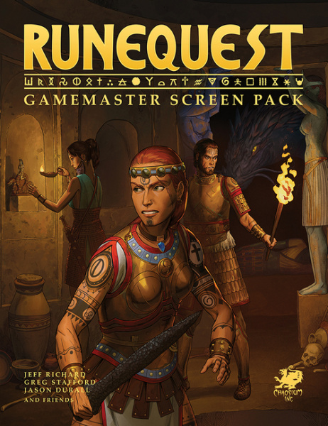 RuneQuest: Game Master Screen Pack