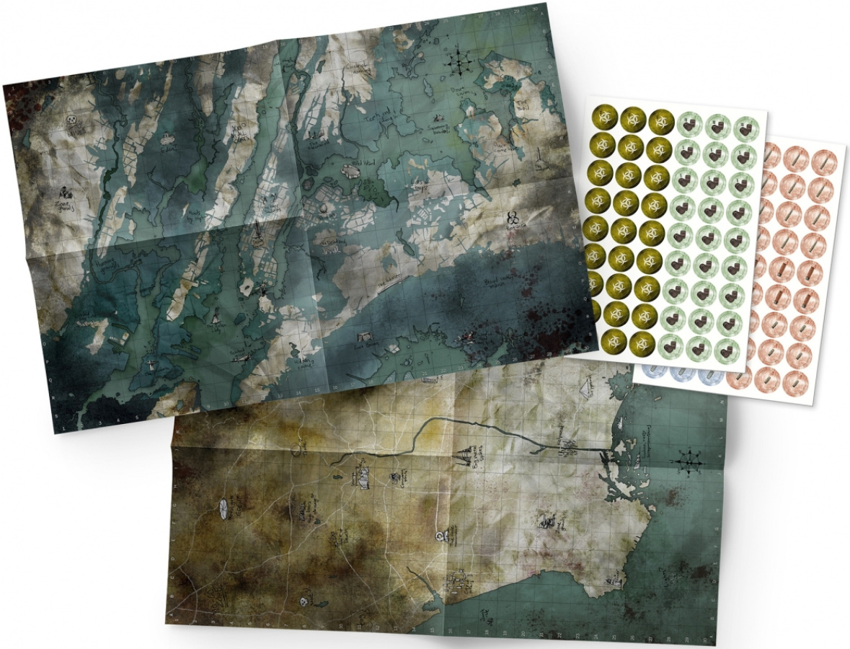 Mutant Year Zero - Maps & Markers Pack